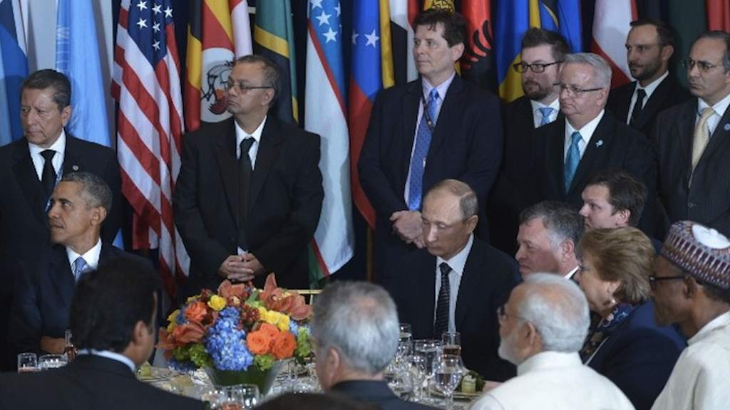 Spotlights focused on Syria with the presence of world leaders at UN meeting