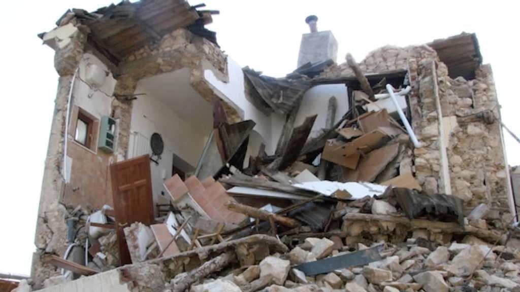 Um terremoto de 4 graus na escala Richter foi registrado na cidade de Áquila, na Itália, nesta segunda-feira, informou o Instituto Nacional de Geologia e Vulcanologia (INGV)