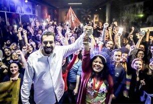 Boulos e Guajajara reúnem a militância do PSOL para 'colocar a campanha na rua'