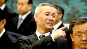O vice-premiê Liu He abre divergência contra as negociações com os EUA