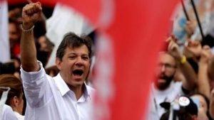 Haddad tenta um papel de proeminência na esquerda, a partir da derrota para o candidato neofascista, Jair Bolsonaro