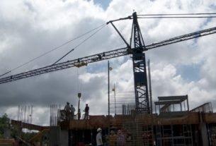 Dados da FGV indicam que a expectativa é que a construção tenha encolhido 1,8% no segundo trimestre em relação ao mesmo período do ano anterior