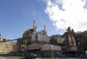 Usina de carvão em Helper, Utah, no EUA