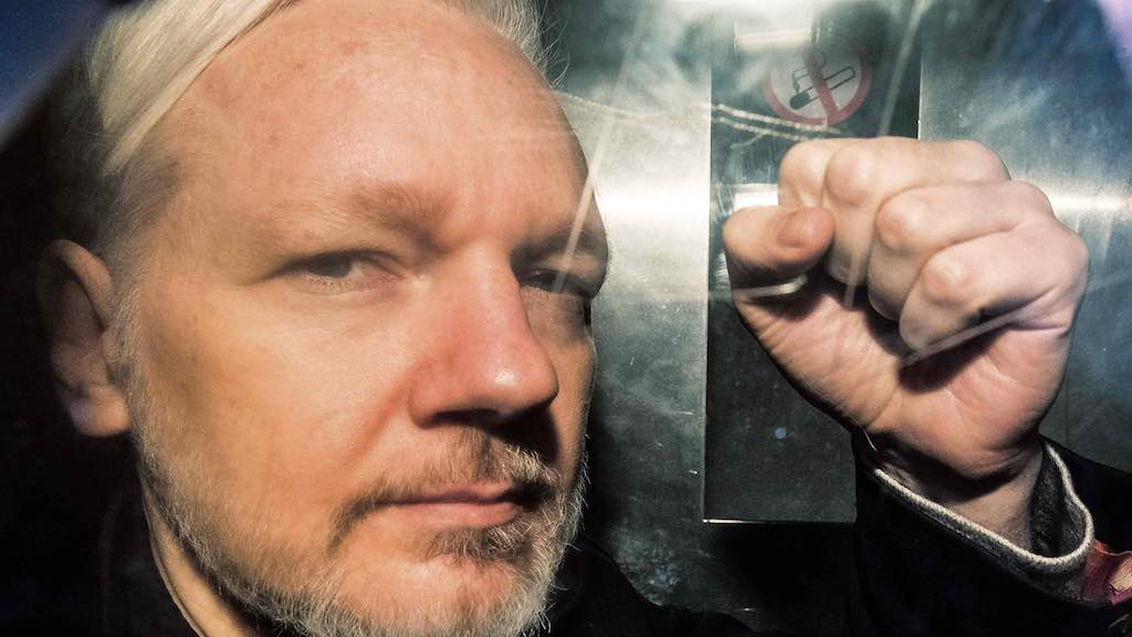 Fundador do WikiLeaks, Julian Assange