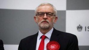 Líder trabalhista britânico, Jeremy Corbyn, aguarda resultados das eleições gerais do Reino Unido