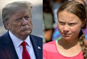 Trump ironiza ativista do clima Greta Thunberg