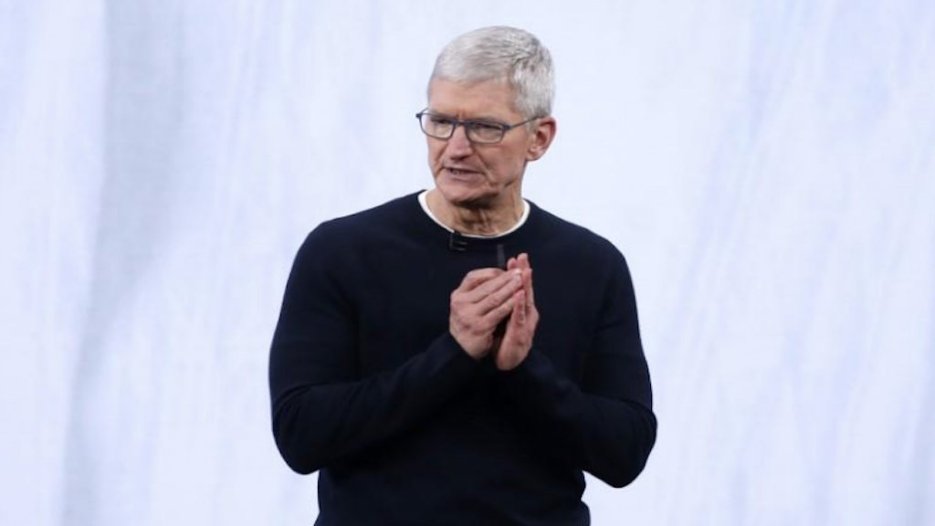 Presidente-executivo da Apple, Tim Cook