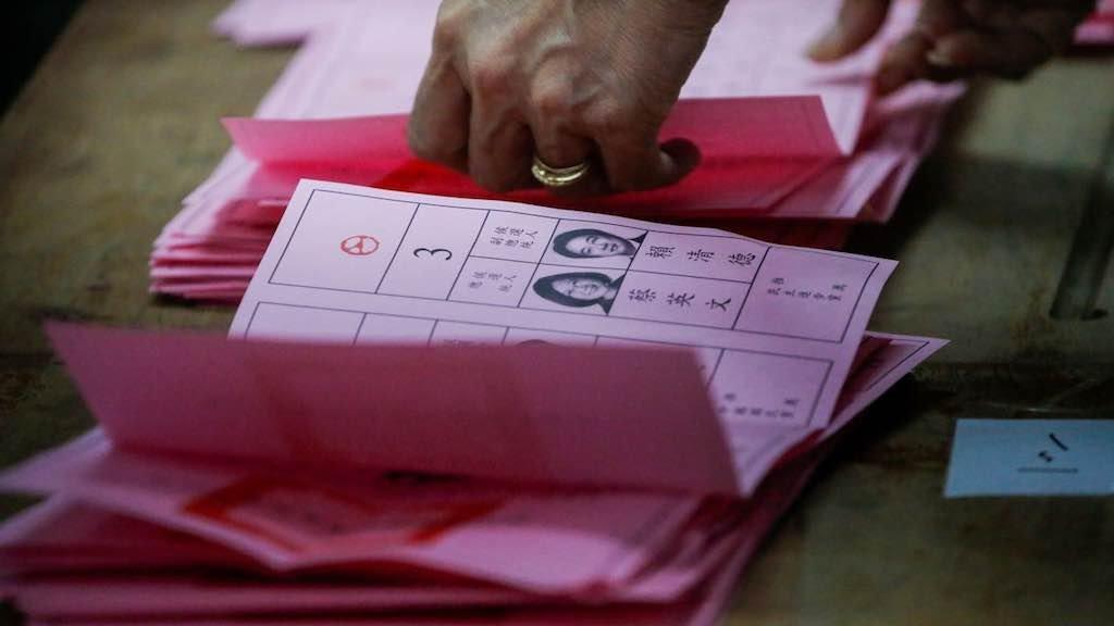 Cerca de 19 milhões de eleitores foram às urnas para as eleições presidenciais em Taiwan