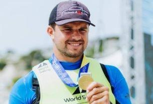 O velejador paulista Jorge Zarif, campeão mundial da classe Finn em 2013, foi flagrado no exame antidoping