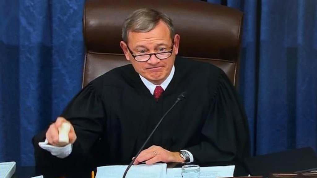 Presidente da Suprema Corte dos EUA, John Robert