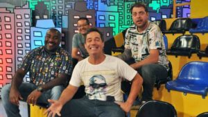 Elenco do programa Encrenca, da Rede TV!