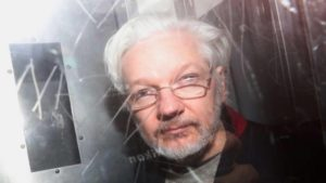 Julian Assange, fundador do WikiLeaks Londres, Reino Unido