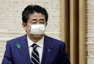 Premiê japonês, Shinzo Abe, em Tóquio
