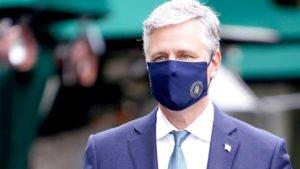 O conselheiro de Segurança Nacional da Casa Branca, Robert O'Brien, adiantou a decisão do governo de impedir a entrada de brasileiros nos EUA