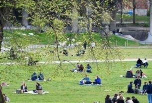 Parque Ralambshov em Estocolmo