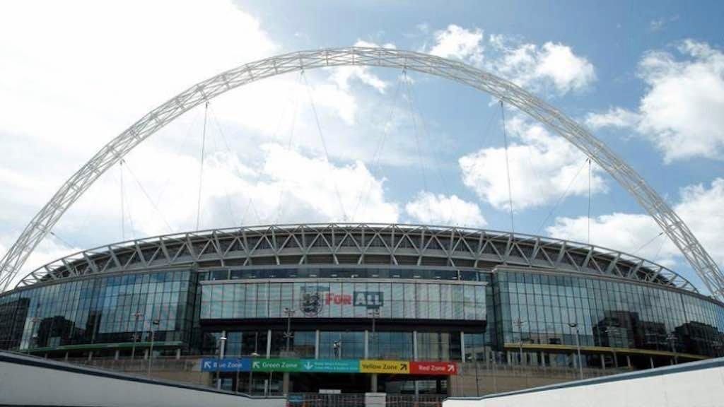 Estádio de Wembley, em Londres