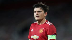 Harry Maguire no Old Trafford, Manchester