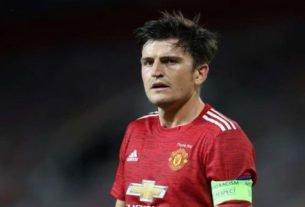 Capitão do Manchester United, Harry Maguire