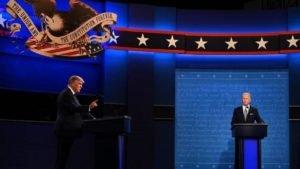 O debate Trump versus Biden