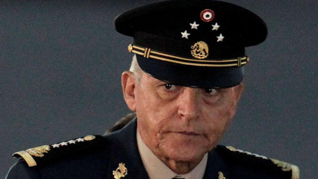 Ex-ministro da Defesa do México general Salvador Cienfuegos