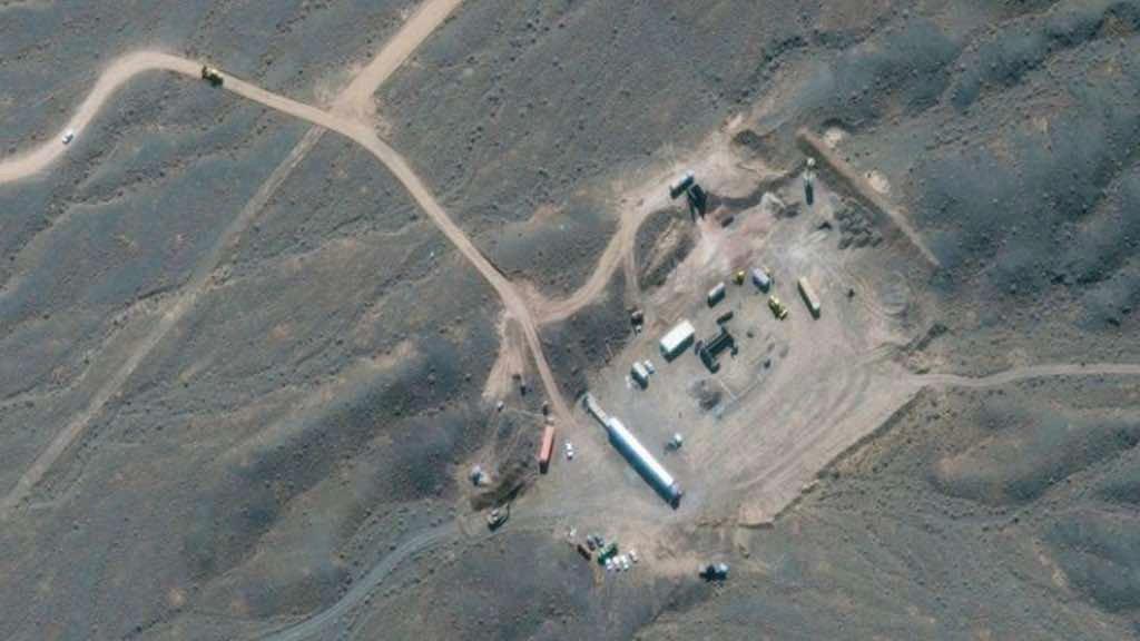 Imagem de satélite mostra instalação nuclear iraniana de Natanz, em Isfahan
