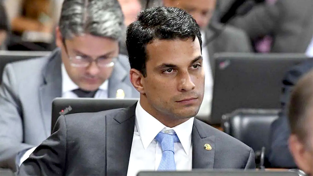 O senador Irajá Abreu (PSD-TO) foi denunciado por suposto estupro a uma modelo, na capital paulista