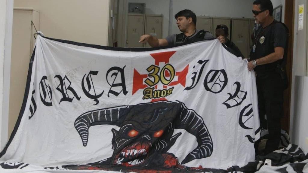Alvos da operação são integrantes da Torcida Força Jovem, do Vasco