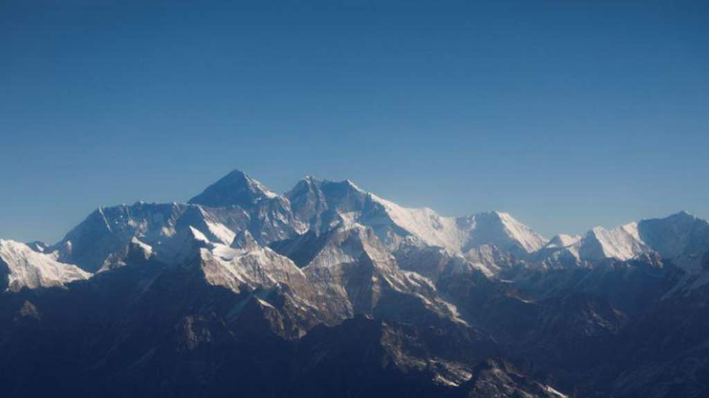 Vista do Monte Everest