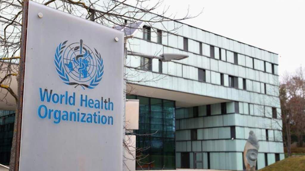 Prédio da Organização Mundial da Saúde em Genebra